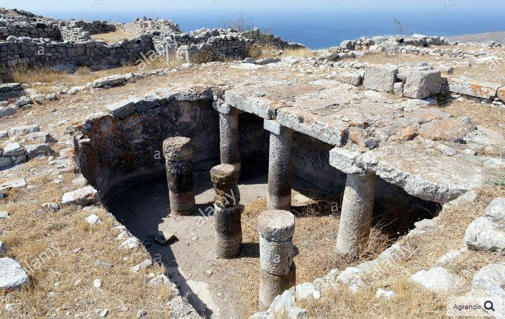 citerne beton romain