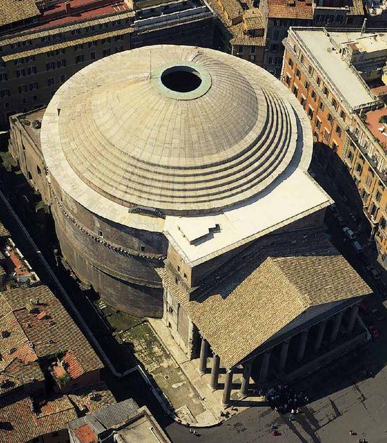 panteon beton romain beton romain