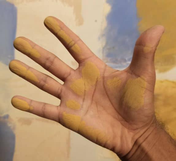 pigment farine